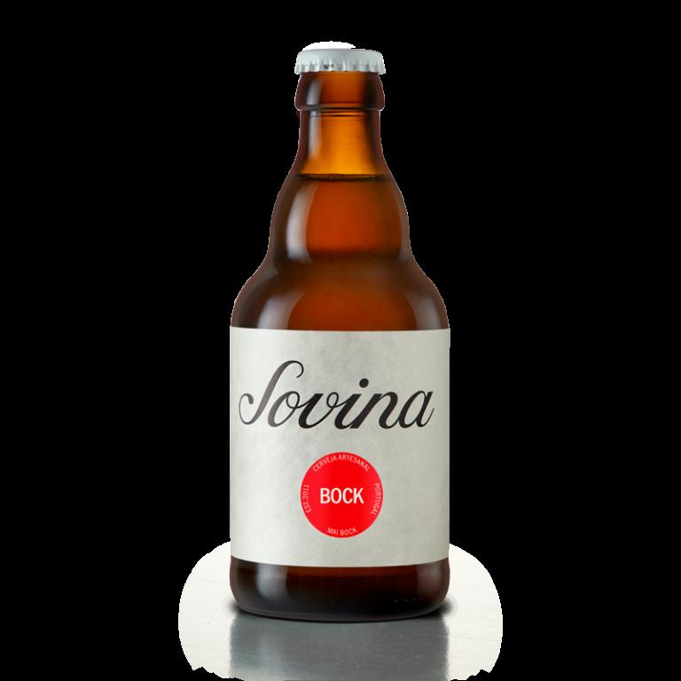 Nova imagem da cerveja Sovina Bock