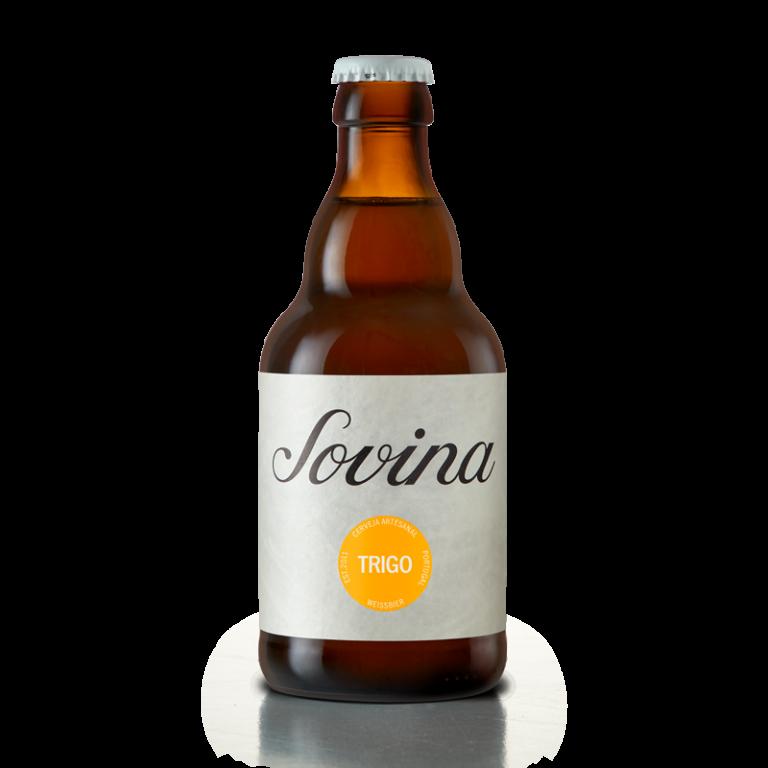 garrafa de Sovina Trigo tem nova imagem